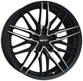 8x18 5x112 70.1 ET45 Alutec Burnside Diamond black front Polished