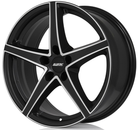 Alutec Raptr racing black fpolished 8x18 5x108 70.1 ET45