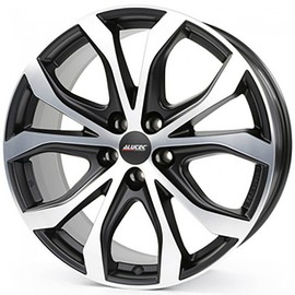 Alutec W10 racing black fpolished 8x18 5x114.3 70.1 ET40