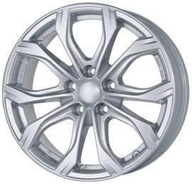 Alutec W10 silver 8x18 5x127 71.6 ET53