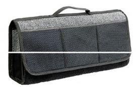 Органайзер в багажник Travel ковролин 50x13x20 серый