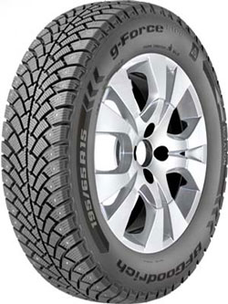 BfGoodrich G-Force Stud 245/45 R17