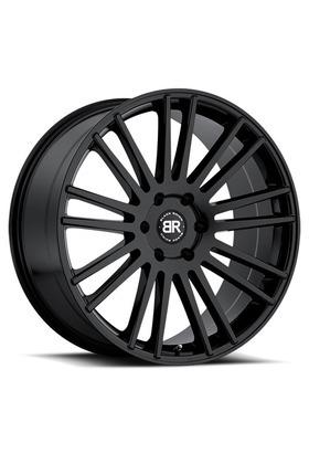 10x24 5x150 110.1 ET30 Black Rhino Wheels Kruger Gloss Black