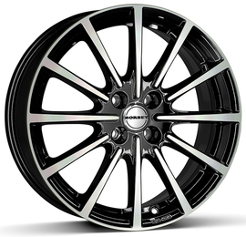 Borbet BL5 schwarz polished 7x16 5x112 72.5 ET37