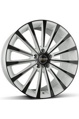 Borbet BLX white black glossy 8.5x19 5x112 72.5 ET45