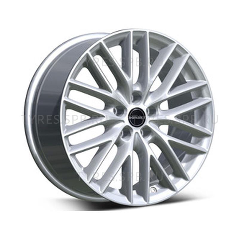 Borbet BS5 brilliant silver 7x16 5x114.3 72.5 ET50