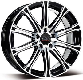 Borbet CW1 black polished 7x17 5x108 72.5 ET45