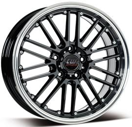 Borbet CW2 schwarz polished 8.5x18 5x120 72.5 ET30