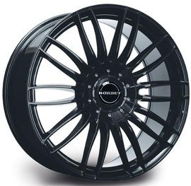 Borbet CW3 black glossy 9x20 5x108 63.3 ET45