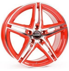 Borbet CW4 red front polished 7.5x19 5x114.3 67.1 ET42