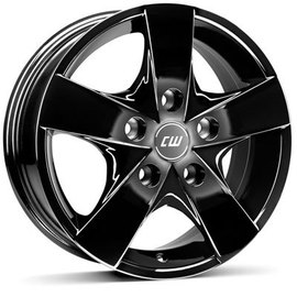 Borbet CWF black glossy 6.5x15 5x118 71.1 ET60