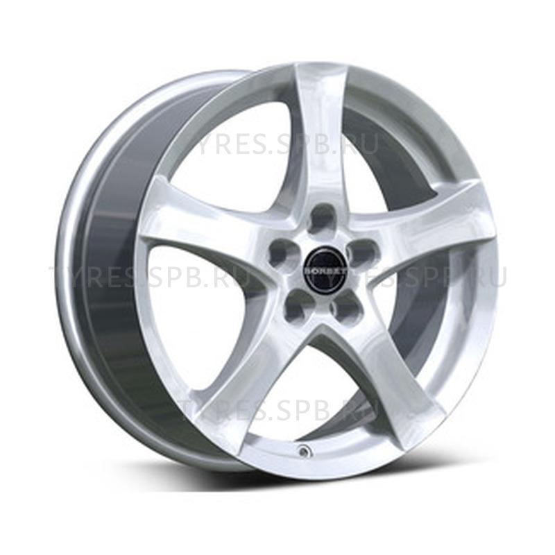 Borbet F brilliant silver 6.5x16 5x112 57.06 ET50