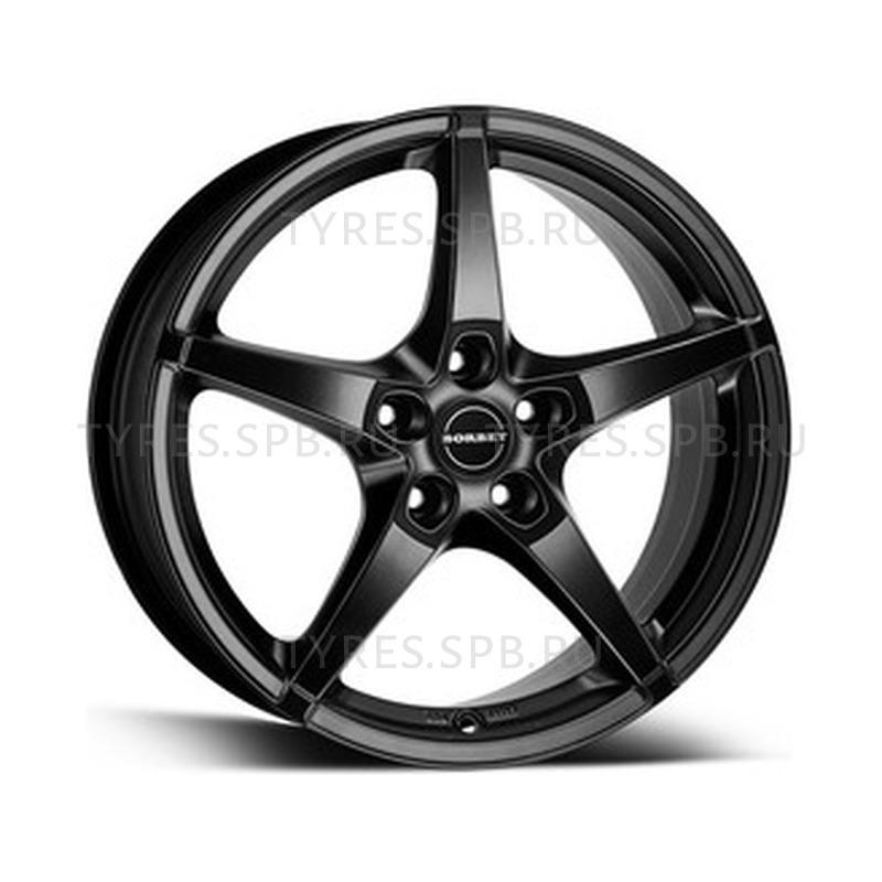 Borbet FS black matt 8x17 5x112 72.5 ET45