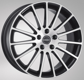 Borbet LS black polished 7x17 5x112 72.6 ET38