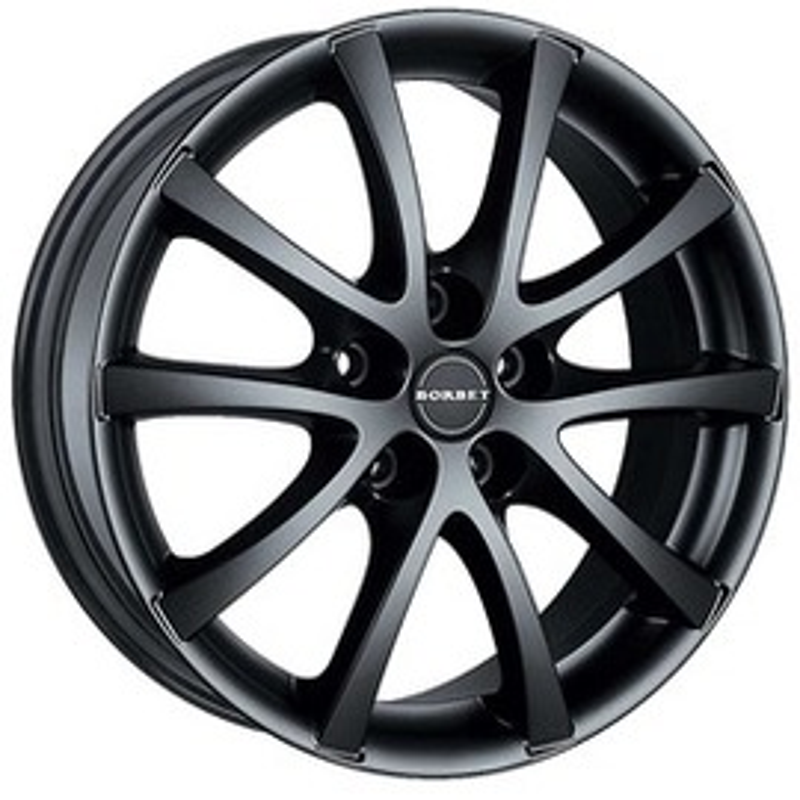 Borbet LV5 black glossy 6.5x15 5x108 72.5 ET40