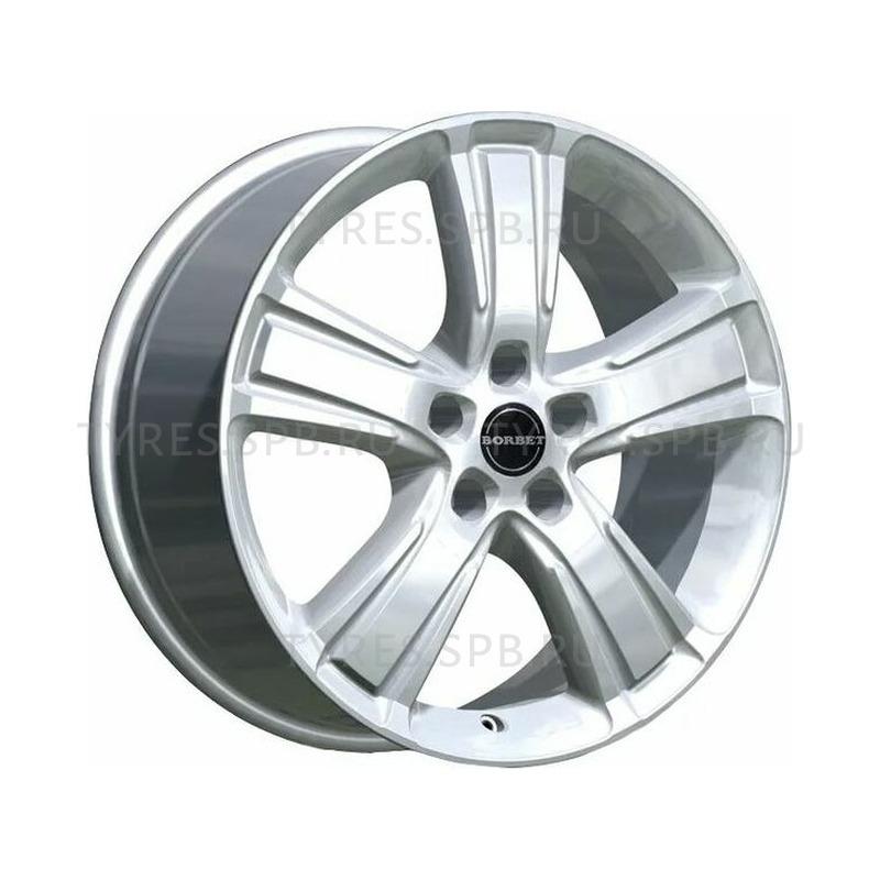 Borbet MA brilliant silver 7.5x17 5x105 56.6 ET38