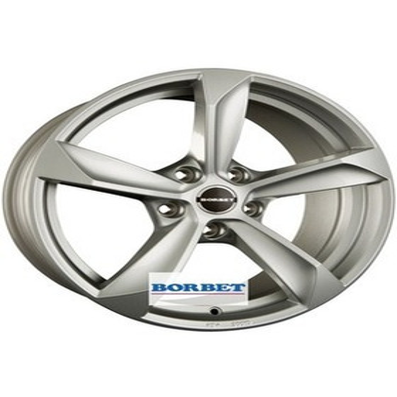 Borbet S brilliant silver 9x20 5x130 71.6 ET50