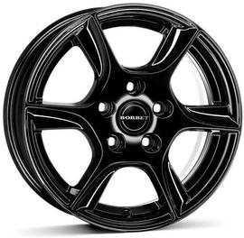 Borbet TL black glossy 7x16 5x112 66.5 ET39