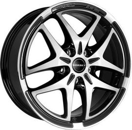 Borbet XB black polished 7x17 5x112 57.1 ET54