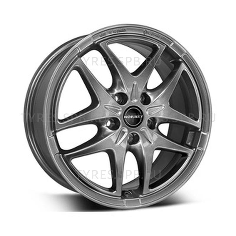 Borbet XB metal grey 7.5x17 5x112 57.1 ET47