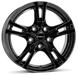 Borbet XLB black glossy 7x16 5x120 72.5 ET42