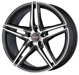 Borbet XRT schwarz polished 8.5x19 5x112 72.5 ET35