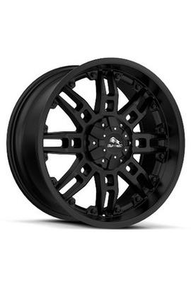 9x20 5x150 110.1 ET38 Buffalo BW-007 SATIN-BLACK