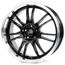 Dotz Shift polished lip 8x18 5x120 72.6 ET35