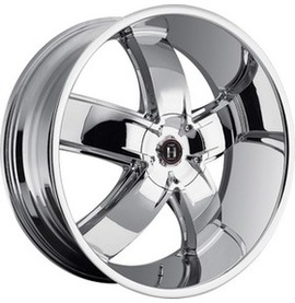 9.5x20 6x139.7 108.1 ET15 Harp Y-18 Gloss black with chrome accents