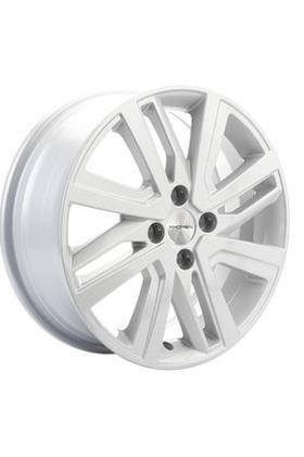 6x16 4x100 60.1 ET50 Khomen Wheels KHW1609 (Vesta/Largus) F-Silver Вид 1