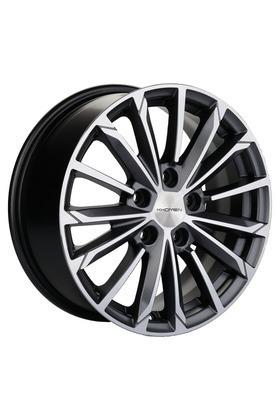 6.5x16 5x114.3 60.1 ET45 Khomen Wheels KHW1611 (Corolla) Black-FP Вид 1