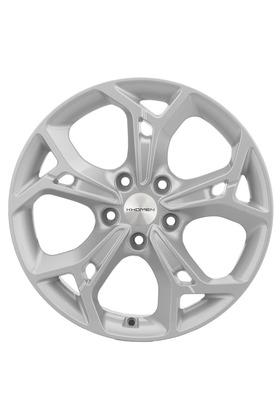 7x17 5x114.3 67.1 ET48.5 Khomen Wheels KHW1702 (Sportage) F-Silver Вид 1