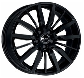 MAK Barbury Gloss Black 8x19 5x114.3 76 ET50