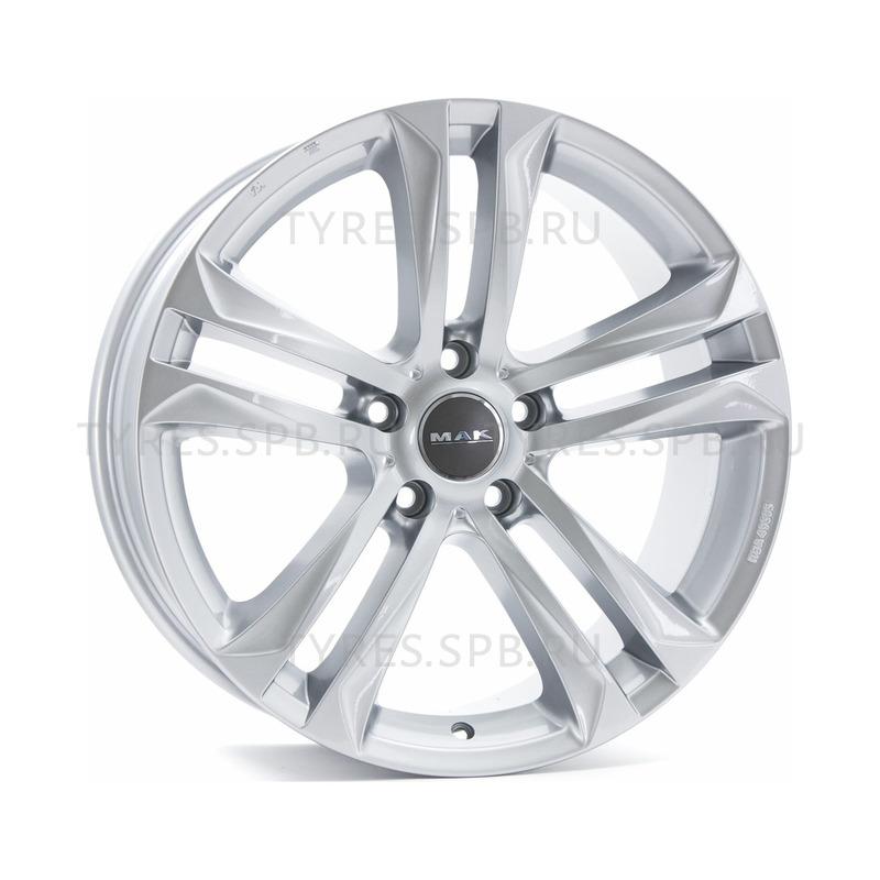 MAK Bimmer silver 9.5x20 5x120 74.1 ET35