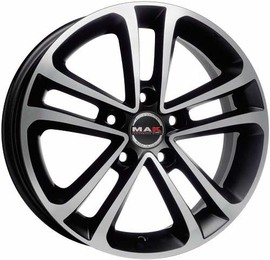 MAK Invidia ice black 8x17 5x108 72 ET45
