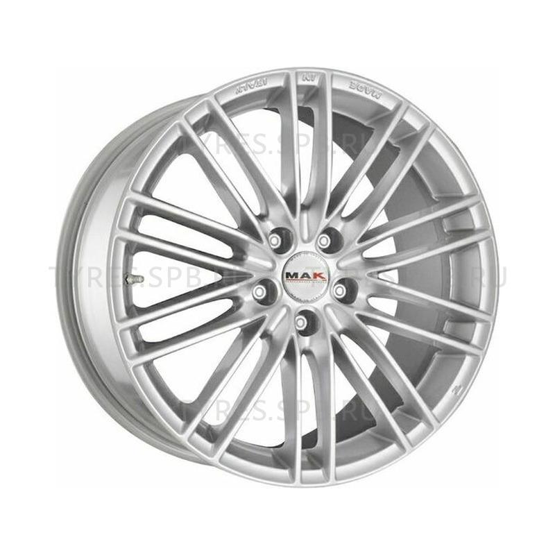 MAK Rapide silver 7x16 5x114.3 76 ET40