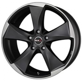 MAK Raptor 5 ice superdark 8.5x19 5x120 72.6 ET20