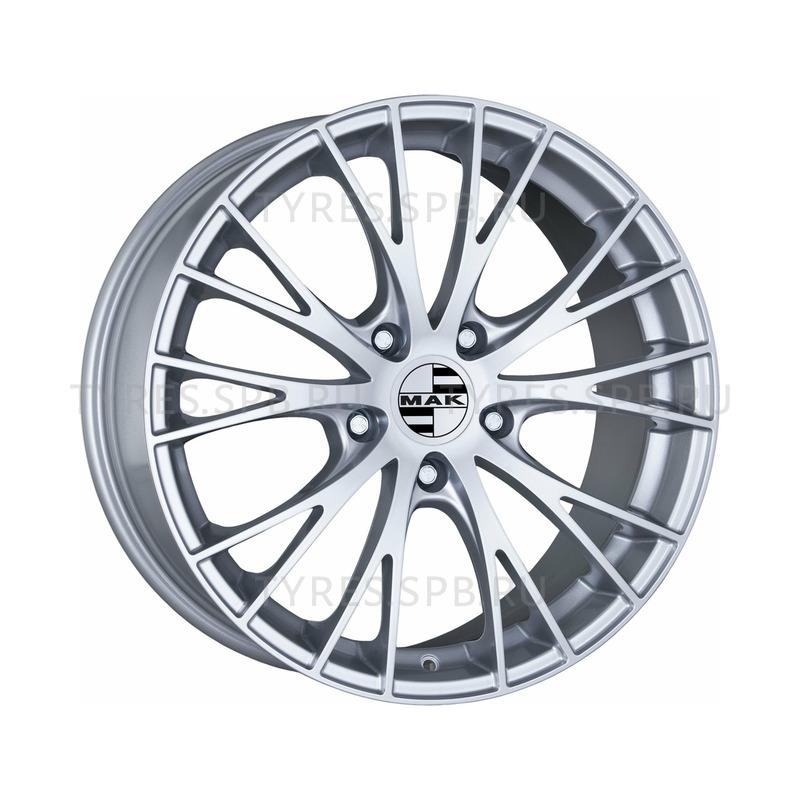 MAK Rennen silver 8x18 5x130 71.6 ET50