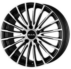 MAK Starlight Ice Black 7.5x17 5x112 66.6 ET30