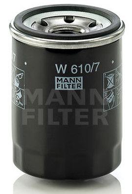 W610/7 MANN масляный фильтр