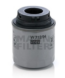 W712/94 MANN масляный фильтр