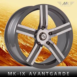 MK Wheels MK-IX Avantgarde 7x17 5x114.3 73.1 ET45