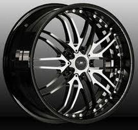 MK Wheels MK-LIX(59) Individual 10x21 5x120 74.1 ET40