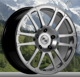 MK Wheels MK-V Elegance 7.5x17 5x130 71.6 ET50