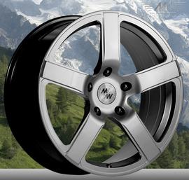 MK Wheels MK-VIII Elegance 7.5x17 5x110 73.1 ET35