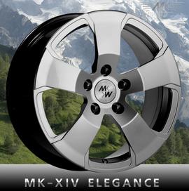 MK Wheels MK-XIV Elegance 6.5x15 5x100 56.1 ET50