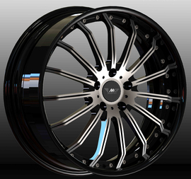 MK Wheels MK-XL Status 9.5x22 5x130 71.6 ET40