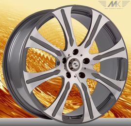 MK Wheels MK-XVI Avantgarde 10x22 5x112 66.6 ET50