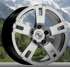 MK Wheels MK-XVII Elegance 8.5x18 5x112 57.1 ET48
