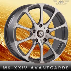 MK Wheels MK-XXIV(24) Avantgarde 6.5x16 5x114.3 73.1 ET54